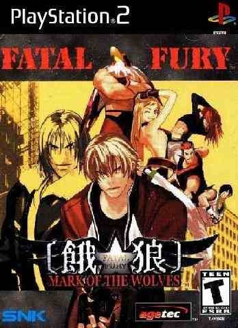 Fatal Fury: Mark Of The Wolves - Ps2 Patch Com Capa