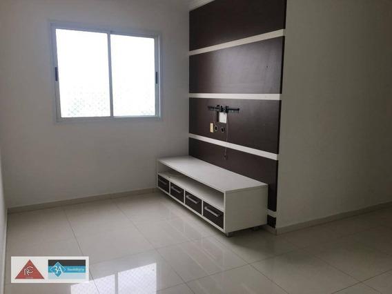 Apartamento Com 2 Dormitórios Para Alugar, 50 M² Por R$ 2.250/mês - Tatuapé - São Paulo/sp - Ap5792