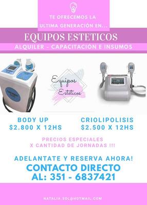 Alquiler De Criolipolisis Y Body Up