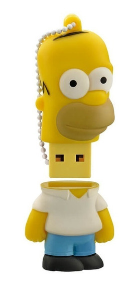 Pendrive Multilaser 8gb Homer Simpsons - Pd070