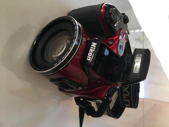 Câmera Nikon L820 + Bolsa Para Câmera (pouco Usada)
