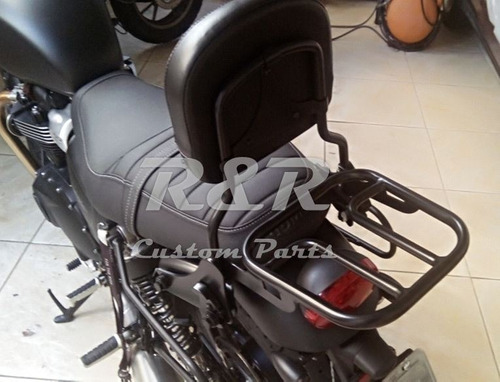 Sissy Bar Encosto Garupa Bonneville T120 2016 Up Triumph