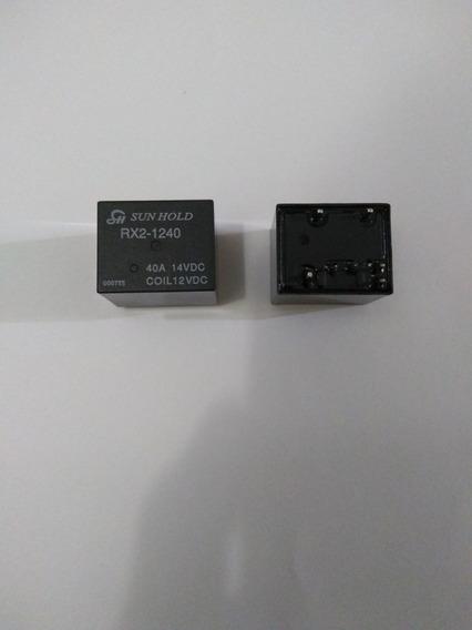 Rele Rx2-1240 12vdc 40a Com 2pcs
