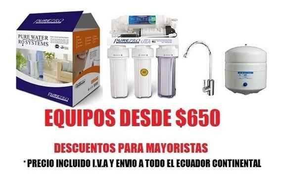 Purificadores De Agua Pure Pro U.s.a