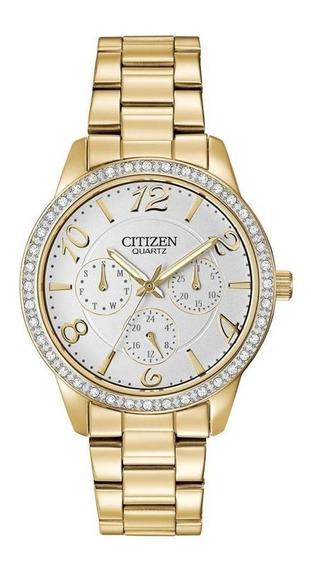 Relógio Citizen Ladies Tz28280h Dourado