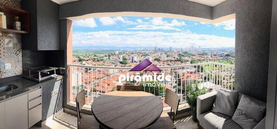 Apartamento Com 2 Dormitórios À Venda, 75 M² Por R$ 445.000,00 - Jardim Das Indústrias - São José Dos Campos/sp - Ap11147