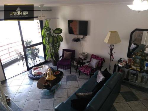 Imagem 1 de 11 de Cobertura Com 3 Dormitórios, 220 M² - Venda Por R$ 1.400.000,00 Ou Aluguel Por R$ 10.000,00 - Vila Monumento - São Paulo/sp - Co2061