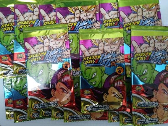 Cartas Dragon Ball Z Serie 4 (pack X 20 Sobres)