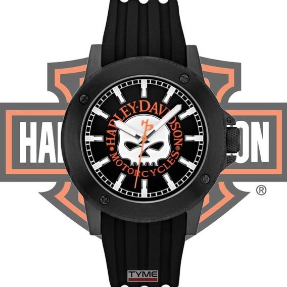 Relógio Bulova Harley Davidson Masculino 78a115 Wh30466p Nfe