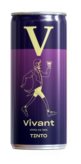 Vinho Vivant Tinto Em Lata 269ml
