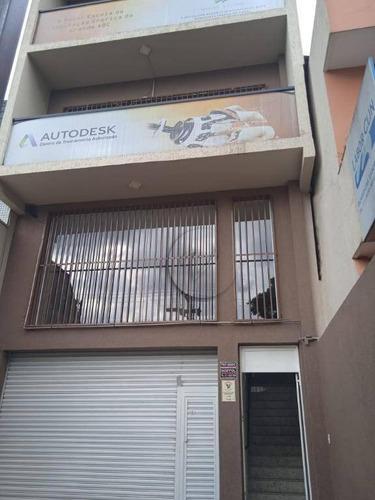 Prédio Para Alugar, 300 M² Por R$ 14.000,00/mês - Jardim - Santo André/sp - Pr0100