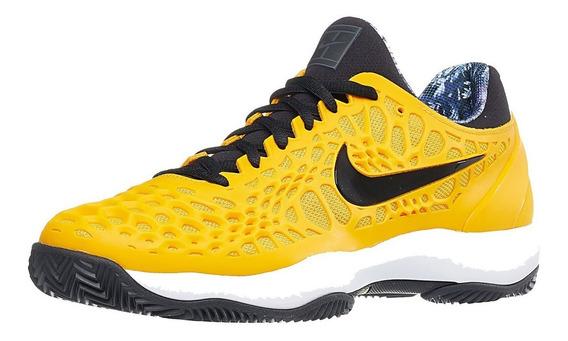 Tenis Nike Air Zoom Cage 3 Clay Amarillo Nadal