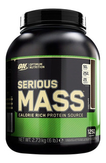 Optimum Nutrition Serious Mass 6lb Ganador Masa Envio Gratis