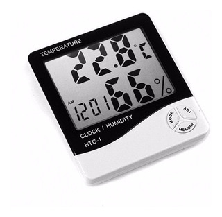 Est. Meteorologica Higrómetro Digital. Humedad Temperatura.