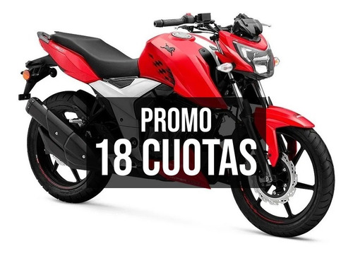 Tvs 160 Rtr Moto Ctas Ciclofox 18 Ctas Fijas De $16100