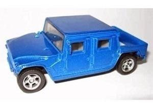 Miniatura De Hummer Canyon Pickup Azul 1:55 Siku 0880