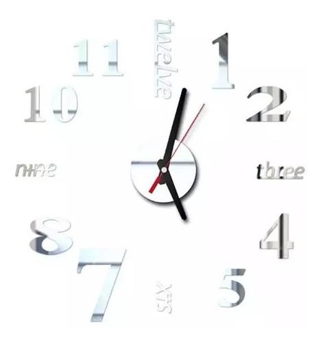 Reloj Pared Acrílico Decoración Habitación Amor Y Amistad