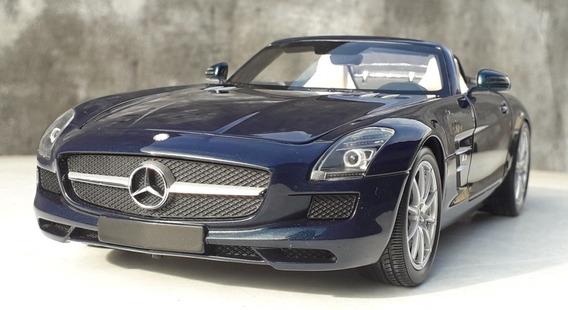 1:18 Miniatura Mercedes Sls Amg Roadster Minichamps Ñ Norev