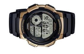 Relógio Casio Masculino Sport World Maps Ae-1000w-1a3vdf