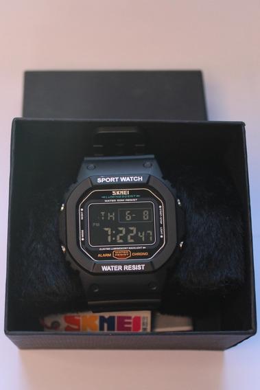 Relógio Skmei 1134 Esportivo Preto Digital