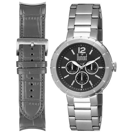 Relógio Dumont Masculino Du6p29abl/3c.