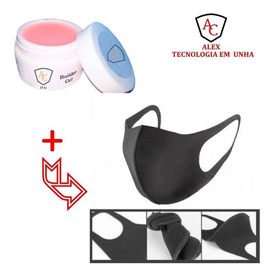 Mascara Antipoeira Lavável Unha E Estética + Gel Alex 15g