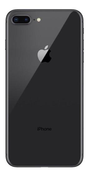 Carcaça Completa iPhone 8 Plus Preto Original Apple Traseira