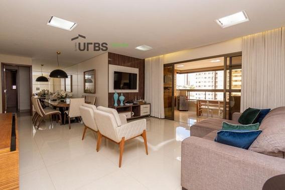 Apartamento Com 4 Dormitórios À Venda, 172 M² Por R$ 1.200.000 - Setor Bueno - Goiânia/go - Ap2784