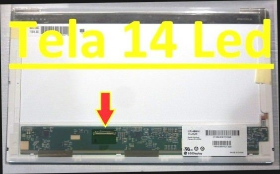 Display Led 14.0 - Notebook Cce Win U25b Envio Já! Confira!