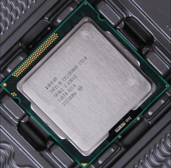 Processador 1155 Intel Celeron Dual Core G550 2.60ghz+ Gd220