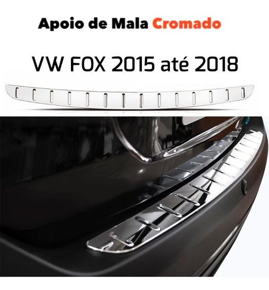 Protetor Cromado De Porta Malas Para Volkswagem Fox