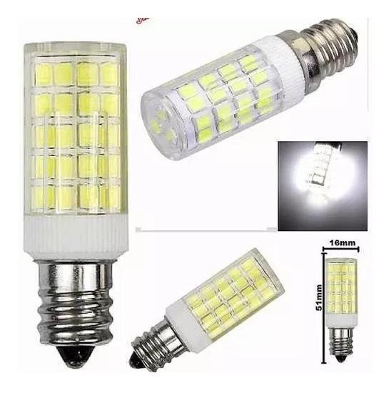 Lampada Led 51 Quente E12 5w 110v 1 Lote C/ 10 Unidades