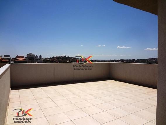 Cobertura Em Belo Horizonte - Diamante (barreiro) Por 500.000,00 À Venda - 389