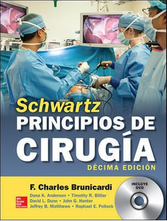 Envío Gratis. Schwartz. Principios De Cirugía 10ed Original