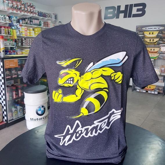 Camisa Honda Hornet Cb600f Abelha Camiseta Algodão Ref.234