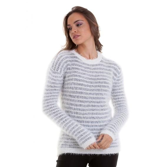 Suéter Pelinhos Listrado