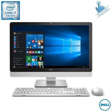All In One Dell, Intel Core I7-7500u ,12gb, 1tb,tela De 23,8