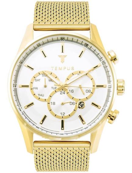 Relógio Tempus Gold Silver