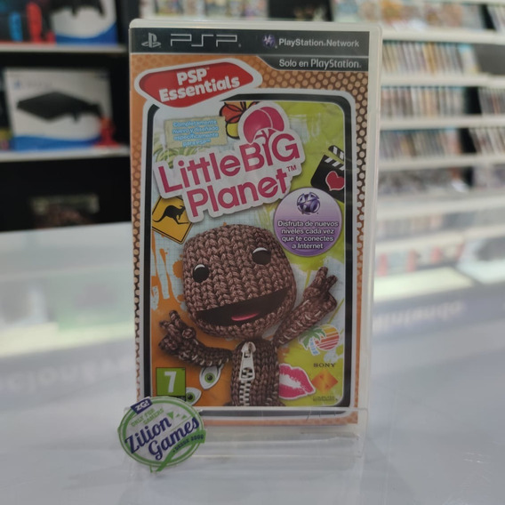 Little Big Planet Sony Psp - Completo