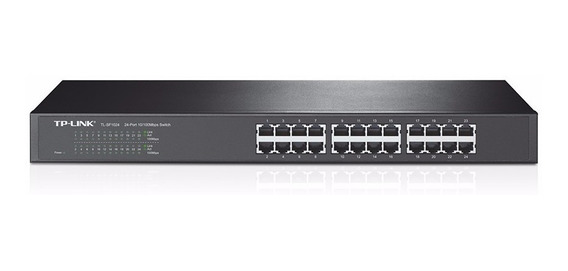 Switch Rackeable Tl-sf1024 10/100 24 Puertos Tp-link - Tigre