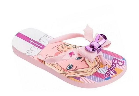 Chinelo Ipanema Laço Barbie Fas Rosa Sem Frete 010776