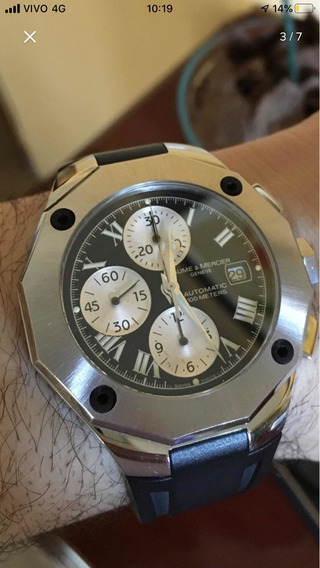 Relógio Baume E Mecier Riviera Crono 2018 Oportunidade