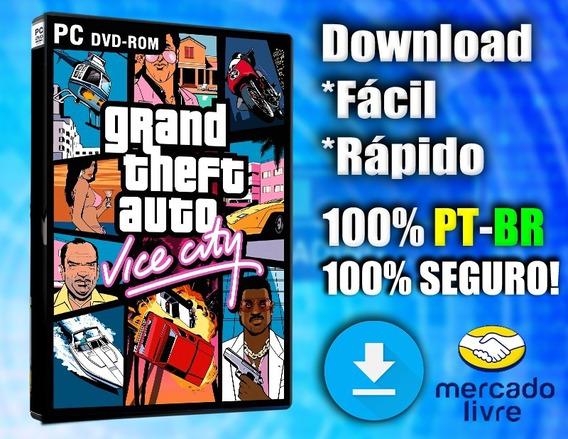 Gta Vice City - Pc - Completo 100% Pt-br
