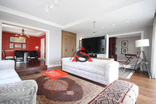 Apartamento Com 2 Dormitórios À Venda, 213 M² Por R$ 3.600.000,00 - Consolação - São Paulo/sp - Ap42287