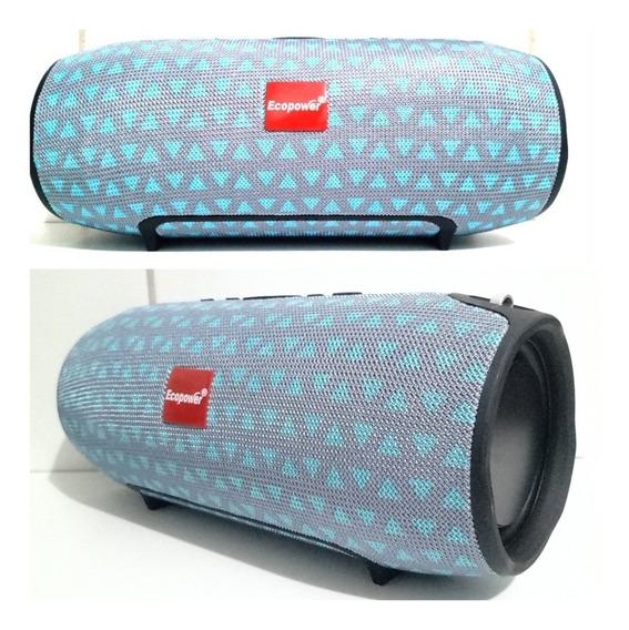 Caixa De Som Xtreme Ecopower Bluetooth,usb,sd,fm,20wrms Top