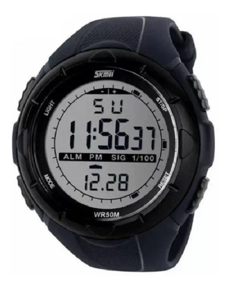 Relógio Masculino Digital Esportivo Original Skmei 1025
