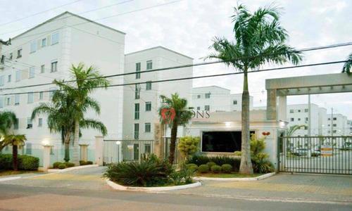Apartamento Com 2 Dormitórios À Venda, 44 M² Por R$ 180.000,00 - Passo Das Pedras - Gravataí/rs - Ap0769
