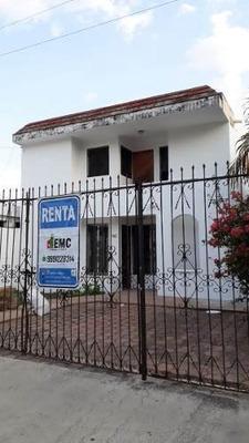 Casa En Renta Para Oficina En Chuburna