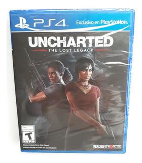Uncharted The Lost Legacy Juego Ps4 Nuevo Sellado Español.