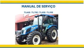 Manual De Serviço Trator New Holland Tl60, 75, 85 E 95e